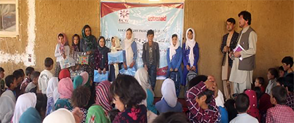 Local Right Program project in Balkh province