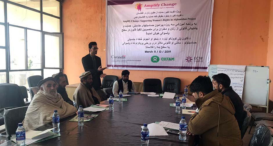 Supporting Women's Rights in Nangarhar Province